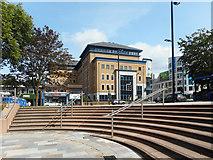 SU4112 : Curved Steps, Wyndham Place by Des Blenkinsopp