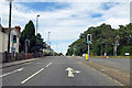 SU4612 : A3024 Bursledon Road at Hinkler Road lights by Robin Webster