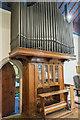 SK9465 : Organ, All Saints' church, North Hykeham by Julian P Guffogg