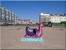 TQ2804 : Snailspace #03 Medina Terrace by Paul Gillett