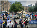 SJ8398 : Albert Square, Supermarine Spitfire (RAF 100) by David Dixon