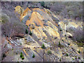 SN7278 : Cwmrheidol silver-lead mine spoil tips by John Lucas