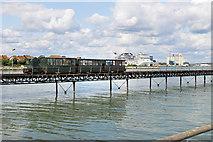 SU4208 : Hythe Pier Railway by Des Blenkinsopp
