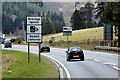 NN9260 : Speed Camera Warning on the A9 by David Dixon