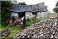 H4377 : Derelict farm building, Tantramurry by Kenneth  Allen