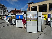 SO8554 : Fields of Battle Lands of Peace exhibition by Philip Halling