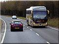 NN7966 : Citylink Coach on the A9 near Calvine by David Dixon