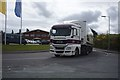 SJ5541 : Lorry in Whitchurch by Bob Harvey