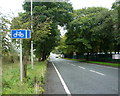 SD8406 : Cycle lane beside Heywood Old Road (A6045) by JThomas