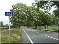 SD8407 : Cycle lane beside Heywood Old Road (A6045) by JThomas