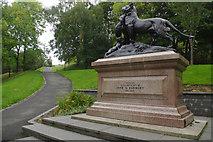 NS5766 : Bengal Tigress Sculpture, Kelvingrove Park by Stephen McKay