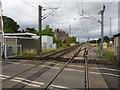 NU1233 : Belford railway station (site), Northumberland by Nigel Thompson