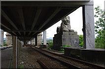 SH5371 : Britannia Bridge / Pont Britannia by Ian Taylor