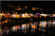 NZ8911 : Whitby Harbour by Richard Croft