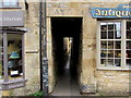 SP1925 : Narrow alley in Stow-on-the-Wold by Jaggery
