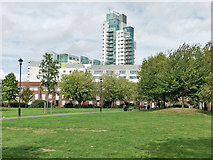 TQ3279 : Tabard Gardens, SE1 by Robin Webster
