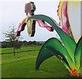 NT1169 : 'Love Bomb' detail at Jupiter Artland by Jim Barton