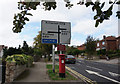 SK4490 : A618 Pleasly Road towards Rotherham by Ian S