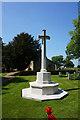 SK9479 : War memorial at St John the Baptist Church, Scampton by Ian S