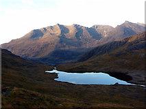 NG4820 : Hills above Loch Coruisk by John Lucas