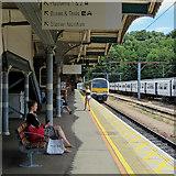 TM1543 : Ipswich Station: waiting on Platform 4 by John Sutton