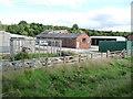 SD7913 : Buildings at Springside Farm by Christine Johnstone