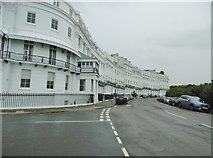 TQ3303 : Kemp Town, Chichester Terrace by Mike Faherty