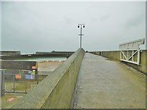 TQ3303 : Brighton Marina, West Breakwater by Mike Faherty