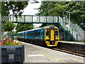 SH5831 : Class 158 train at Harlech station by Ruth Sharville