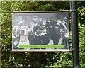 SJ8990 : Lamppost Art: Christ Church Walking Day 1909 by Gerald England