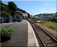 SX2553 : Looe railway station by Jaggery