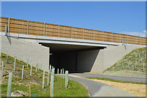 TQ6143 : New A21 road bridge by N Chadwick