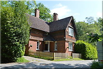 TQ6243 : North Lodge by N Chadwick