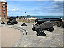 TR3752 : Cannons at Deal Castle by G Laird