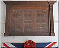 TG1935 : Hanworth WW1 Roll of Honour by Adrian S Pye