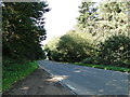 TG1940 : Holt Road from the Great Wood layby by Adrian S Pye