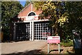 SU8034 : Fire Station, Bordon, Hampshire - 170918 by John P Reeves