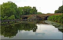 SK5907 : Thurcaston Old Bridge near Belgrave in Leicester by Roger  Kidd