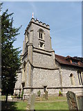 TQ2255 : Walton on the Hill, Surrey, St Peter by Dave Kelly