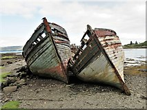 NM5643 : Marine Decay by Andrew Wood