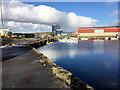 HU4641 : Lerwick Harbour, Skipidock by David Dixon