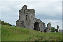 N8056 : Ruined tower, Trim Castle by N Chadwick