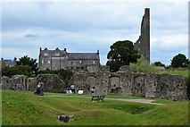 N8056 : Yellow Steeple and Trim Castle by N Chadwick