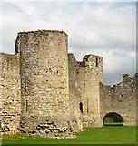 N8056 : Gatehouse, Trim Castle by N Chadwick