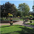 SK5837 : West Bridgford: lunchtime in the park by John Sutton