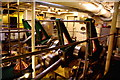TQ6474 : Engine room of PS Waverley by Tiger