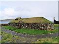 HP6311 : Viking Unst: Longhouse at Haroldswick by David Dixon