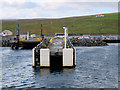 HU4376 : Toft Ferry Pier by David Dixon