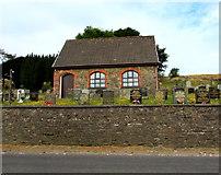 SO1004 : Church and cemetery, Pentwyn by Jaggery