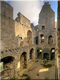 HU4039 : Scalloway Castle, the Main Hall by David Dixon